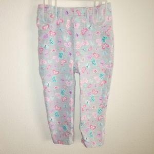 5/$10 Garanimals baby girl 18m butterfly leggings